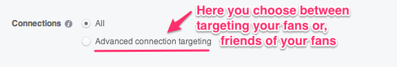 Facebook Ads - Advanced Connection Targeting
