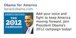 Old School Facebook Ad - Sidebar