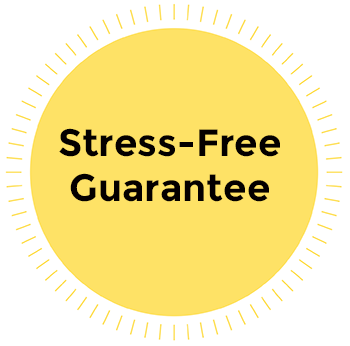 Stress Free Guarantee