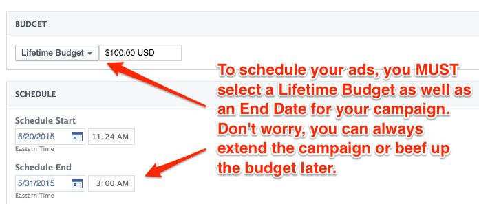 Facebook Ads Scheduling: Power Editor