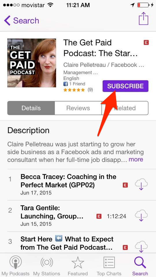 The Get Paid Podcast: How to Listen