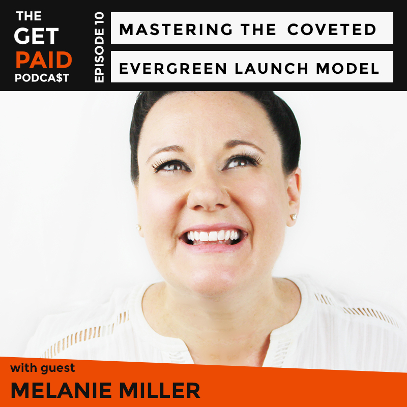 Melanie Miller on the Get Paid Podcast