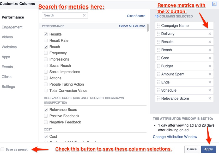 metrics-choosecolumns