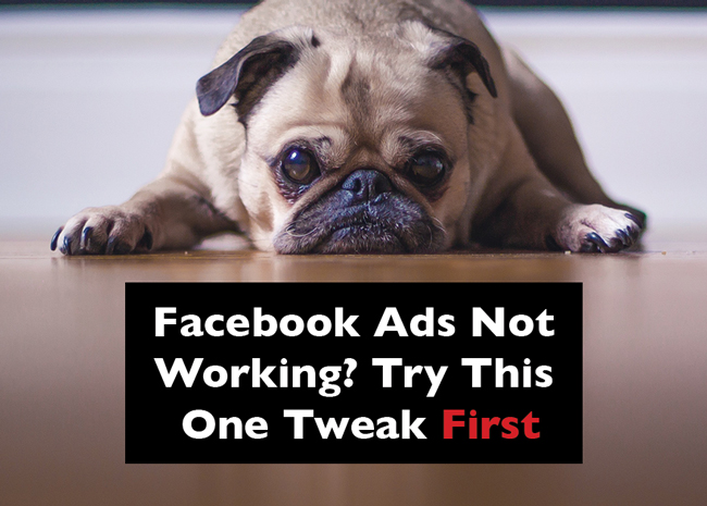 Facebook ads not working