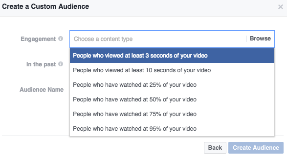 Video facebook ads