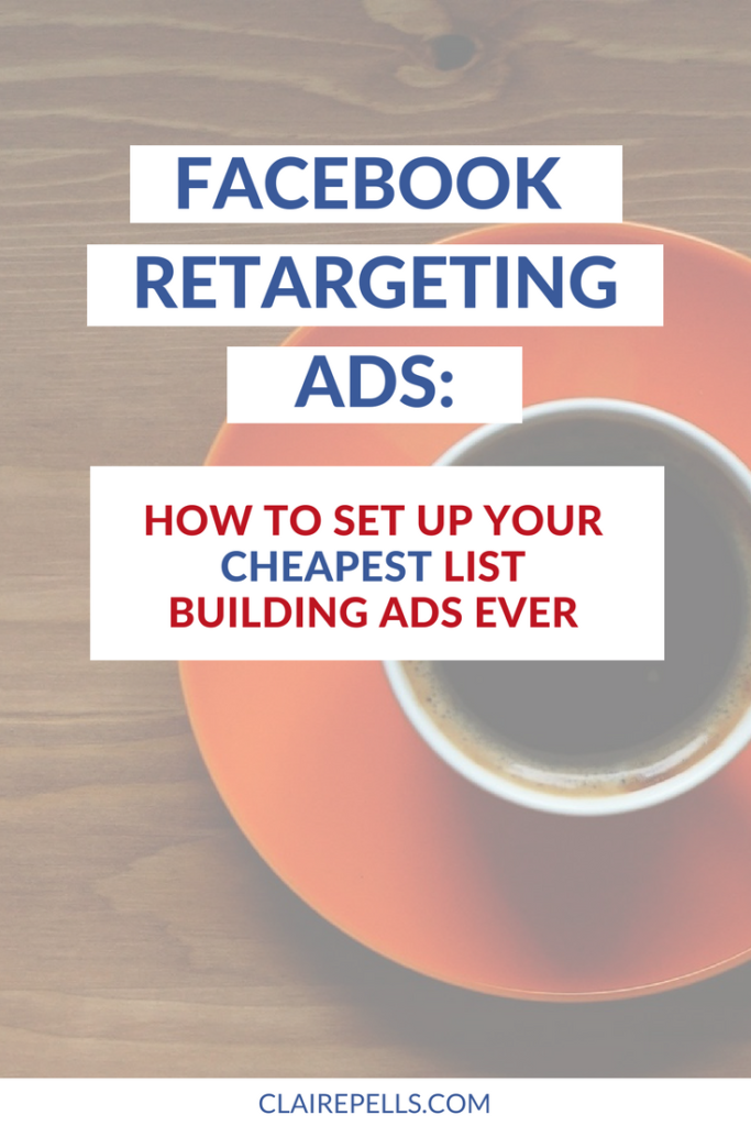 How to set up Facebook retargeting ads